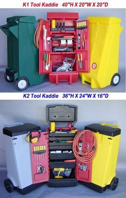 Portable Rolling Tool Cart