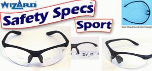 Bifocal safety glasses sports style