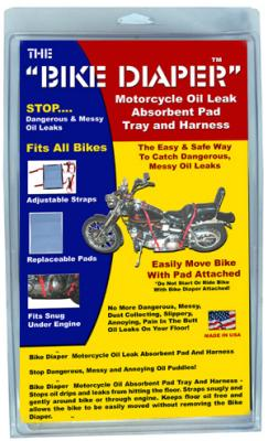 Motorcycle Oil Leak Absorbent Pad Tray and Harness Bike Diaper