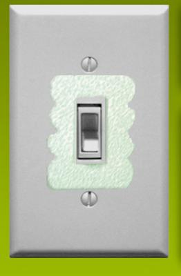 Glow in the Dark Lightswitch Cover Sticker