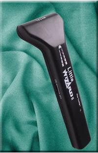 The Little Wizard is a precision hand held metal detector, perfect for scanning fabric to locate lost needles and pins.
