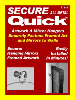 Artwork Hangers Secure Quick Heavy Duty