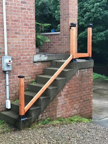 4x4 Post Base Anchor Flange Deck Post Mount