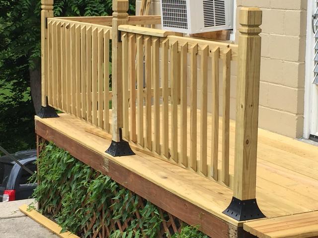 4x4postsupport post holder 4x4 post support flange. Black Bedroom Furniture Sets. Home Design Ideas