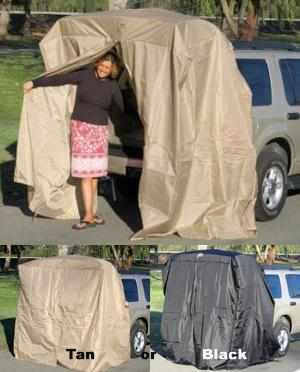 SUV Tent Tailgating Shelter Add A Cabana Portable Dressing Room