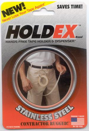tape dispenser and holder HOLDEX Brand Masking Ring