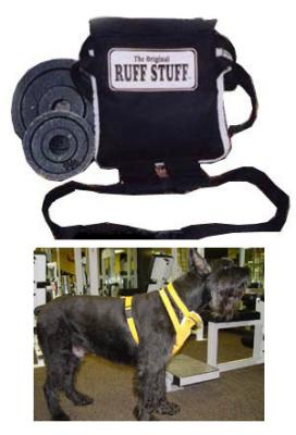 dog excercise harness by Ruff Stuf