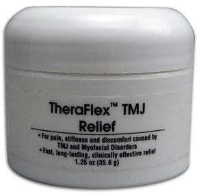 TMJ Relief Cream Treatment Theraflex
