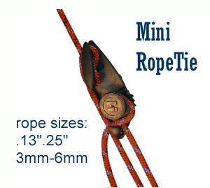 rope tensioner, tiedown - Mini RopeTie