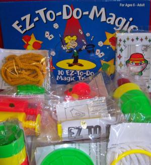 10 EZ-TO-DO MAGIC TRICKS FUN FOR THE WHOLE FAMILY FROM AGE 6 TO ADULT.