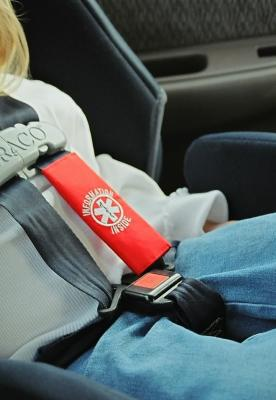 Rescue Facts Child Seat Medical ID Strap
