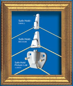 Earthquake Safety Picture Hooks