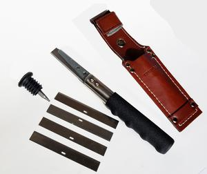 Insulation Knife VinTool with Leather Sheath