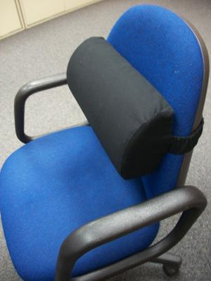 & CHAIR BACK SUPPORT CUSHION by EasyRest