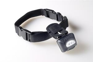 Dog Safety LED Lighted Collar - PupLight - Black
