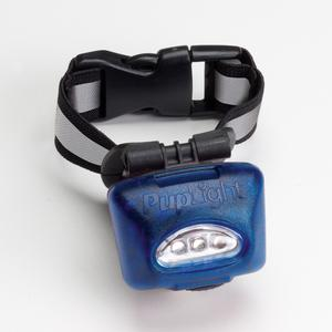 Dog Safety LED Lighted Collar - PupLight2 - Blue