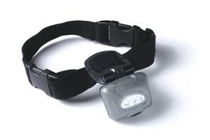 Dog Safety LED Lighted Collar - PupLight - Silver