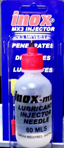 inox injector bottles motorcycle cable oil