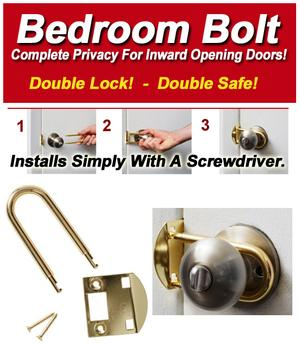 Bedroom Door Lock by U Double Lock Bedroom Bolt