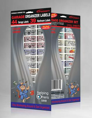 Garage Organizer Labels