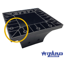 Wizard Heavy Duty Post Supports