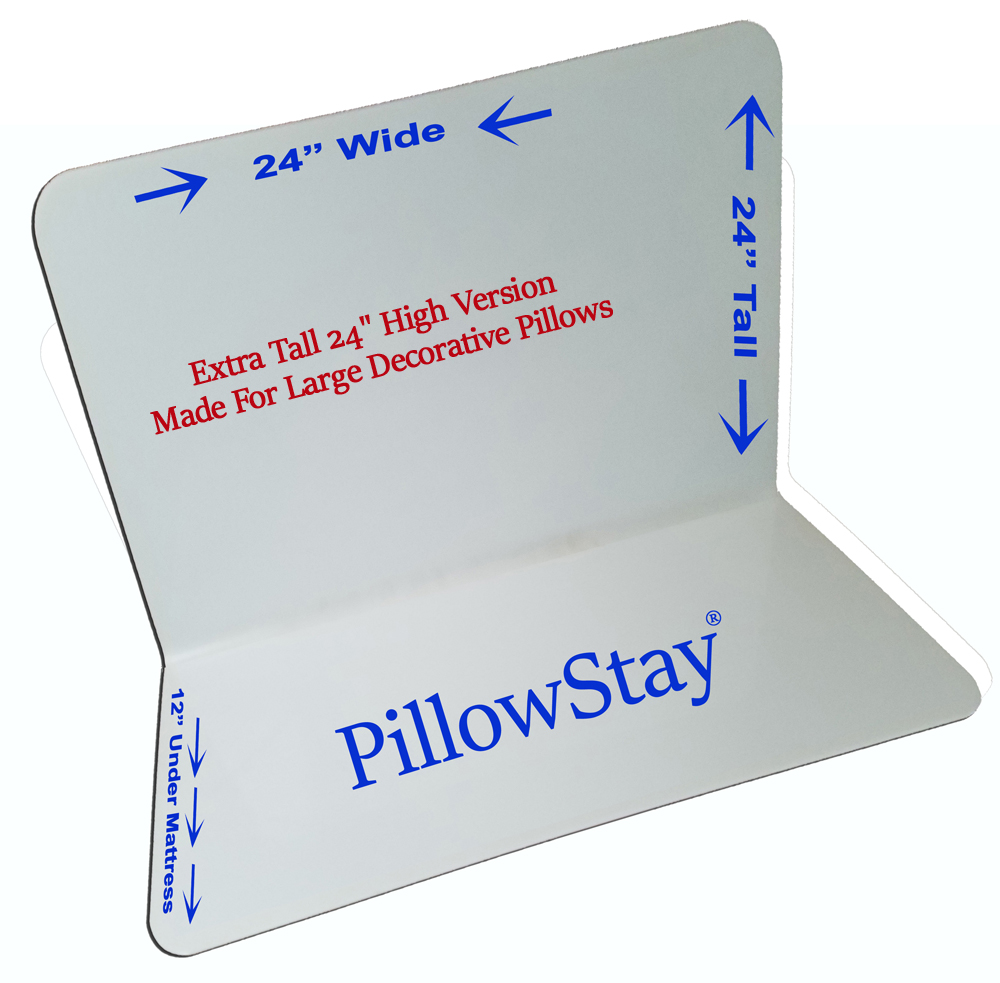PillowStay Tall for Lots of Pillows